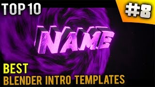 getlinkyoutube.com-TOP 10 Best Blender intro templates #8 (Free download)