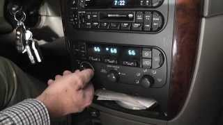 getlinkyoutube.com-Fix Blower on 2002 Chrysler Town and Country ATC Resistor Pack