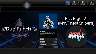 getlinkyoutube.com-Madden Mobile Fist Fight Edition #1 (MM.Finest.Snipers)!!