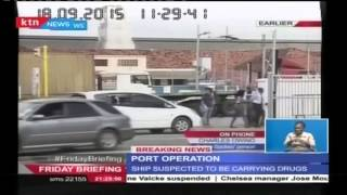 getlinkyoutube.com-Special forces led by Recce Squad comb suspected drug ship at Mombasa Port