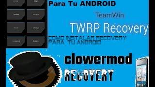 getlinkyoutube.com-Instalar recovery CWM o TWRP en HUAWEI Y300 y G510