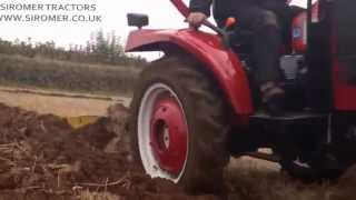 Siromer 204E with Single Furrow Plough in Ploughing Match