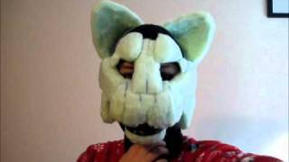 getlinkyoutube.com-Fursuit 2 Progress - Eyes and Mouth