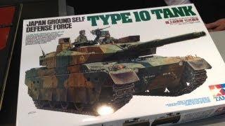 getlinkyoutube.com-タミヤ1/35 10式戦車 開封&レビュー