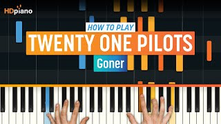 "getlinkyoutube.com-How To Play ""Goner"" by Twenty One Pilots 