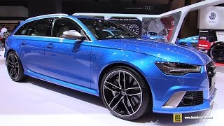 getlinkyoutube.com-2016 Audi RS6 Avant - Exterior and Interior Walkaround - 2015 Tokyo Motor Show