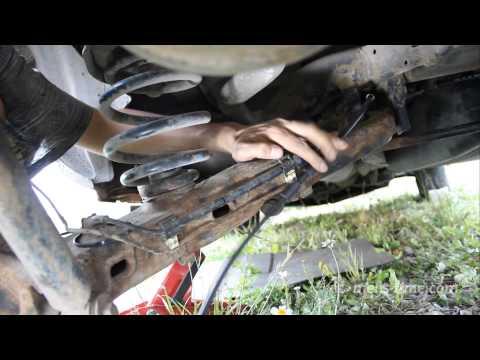 Установка новых тросиков ручного тормоза VW