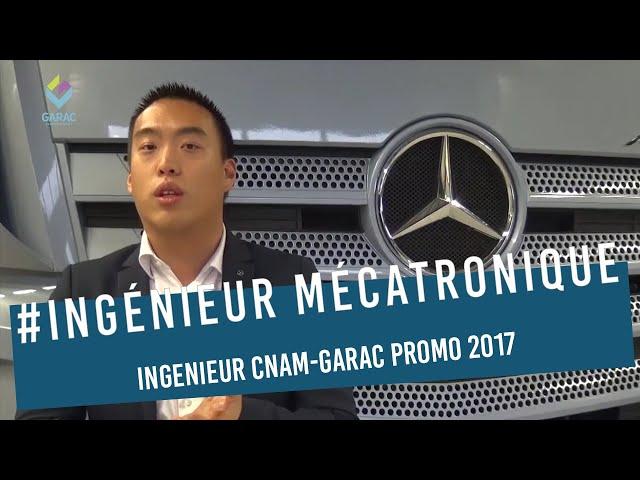 Marc Li Ingenieur Promo 2017 Cnam-Garac chez Mercedes-Benz