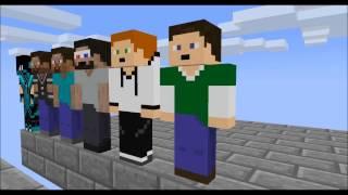 getlinkyoutube.com-[Minecraft animation] Minecraft player School - Parkour