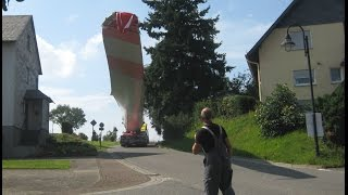 getlinkyoutube.com-Eindrücke vom Bau der Windkraftanlage. Enercon Typ E-101