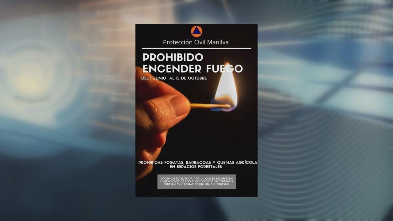 Prohibido de realizar fuego en Andalucía hasta octubre