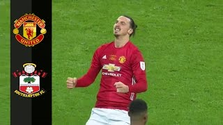 Manchester United Vs Southampton 3-2 Goals & Highlights 26/02/2017 HD