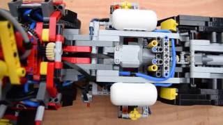 getlinkyoutube.com-LEGO 42043 mod - Compressor