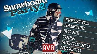 Snowboard Party 2 il gioco per iOS e Android - AVRMagazine.com