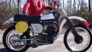 getlinkyoutube.com-1976 HUSQVARNA 360 CROSS COUNTRY - 4 SALE ON 2/16/2012