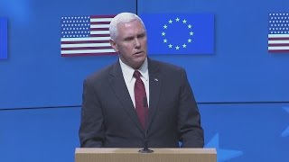 getlinkyoutube.com-Tusk says Pence agrees need to protect relationship between EU and US