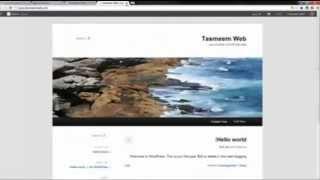 getlinkyoutube.com-2014 شرح بالتفصيل كيفية انشاء موقع wordpress  من الألف إلى الياء
