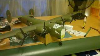 getlinkyoutube.com-Building Paper Model of  B - 24 Liberator