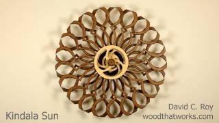 getlinkyoutube.com-Kindala Sun  - spring driven kinetic sculpture by David C. Roy