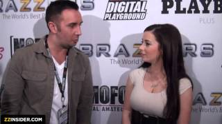 getlinkyoutube.com-AVN Award Show 2013_ Behind the Scenes Interviews Part One