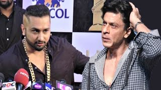getlinkyoutube.com-Yo Yo Honey Singh On Figth With Shahrukh Khan & Salman Khan At Zee Cine Awards 2016