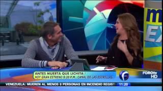 getlinkyoutube.com-Maite Perroni, Arath de la Torre y Eduardo Santamarina hablan de #AMQLichita en Matutino Express