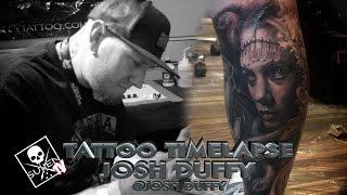 getlinkyoutube.com-Tattoo Time Lapse - Josh Duffy