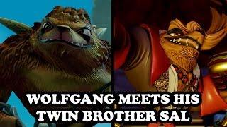 getlinkyoutube.com-Skylanders Imaginators - Wolfgang meets his twin brother Sal GAMEPLAY