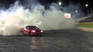getlinkyoutube.com-Burnout Comp at Perth Motorplex with Brett Stewart