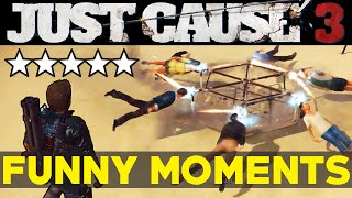 getlinkyoutube.com-Just Cause 3: Funny Moments EP.1 (JC3 Epic Moments Funtage Montage Gameplay)