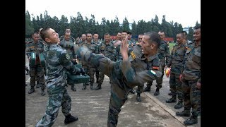 India army vs china army live fight dhoklam width=