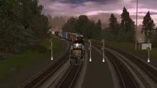 getlinkyoutube.com-Trainz 12: Route Speed Build.