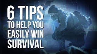 The Division | 6 Tips to Help You Easily Win Survival