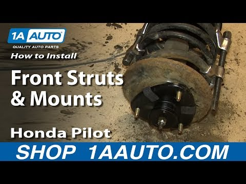 How to Replace Front Strut Assembly 03-08 Honda Pilot