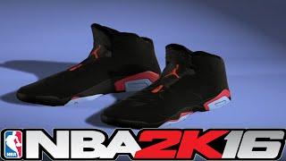 getlinkyoutube.com-NBA 2K16 Shoe Creator Jordan 6 Infrared ⋆#NBA2K16⋆