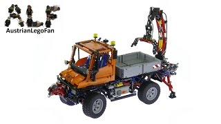 getlinkyoutube.com-Lego Technic 8110 Mercedes Benz Unimog U400 - Lego Speed Build Review