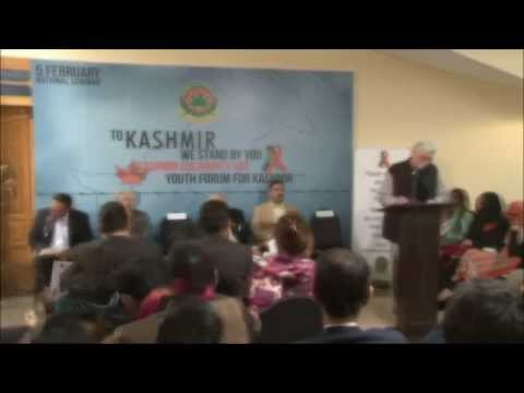 In-Sha ALLAH! India Will Withdraw Her Illegal Occupation From Kashmir: Dr. Pirzada #5Feb2014