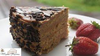 getlinkyoutube.com-Арахисовый торт Коровка