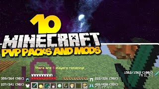 getlinkyoutube.com-TOP 10 MINECRAFT PVP TEXTURE PACKS & PVP MODS - (Best Minecraft Mods & Resource Packs)