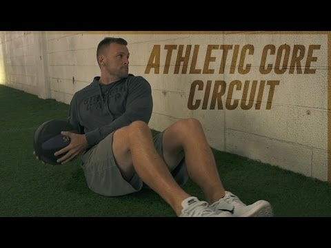 Try This Athletic Med Ball Core Circuit