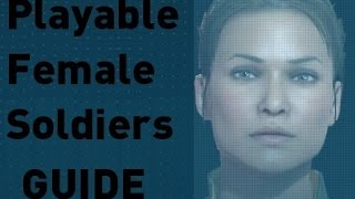 [MGS5: TPP] How to Obtain Playable Female Soldiers