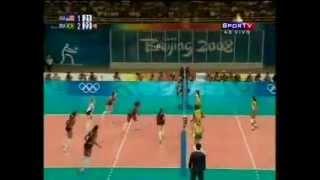 getlinkyoutube.com-Pequim 2008 - Brasil 3 x 1 Estados Unidos - Final do Vôlei Feminino