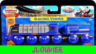 2016 RACING VINNIE - Thomas Wooden Railway Review THE GREAT RACE