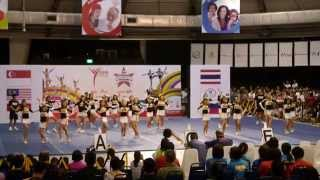 getlinkyoutube.com-Cheer Aces Queens at Asia Cheerleading Invitational Championships (ACIC) 2014