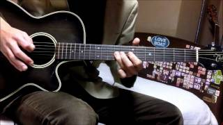 Shakugan no Shana III Final ED 1 - I'll believe guitar cover (overdub)
