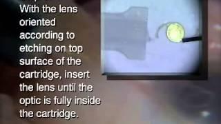 Alcon single piece lens loading