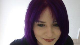 getlinkyoutube.com-Como decolorar el cabello a Violeta