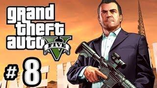 getlinkyoutube.com-Grand Theft Auto 5 Gameplay Walkthrough Part 8 - The Long Stretch