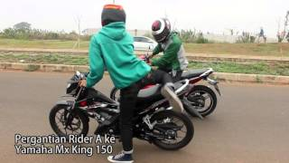 getlinkyoutube.com-Drag Race - Yamaha MX King 150 VS Honda Sonic 150R