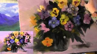 getlinkyoutube.com-Обучение живописи, курсы рисования, научиться рисовать
